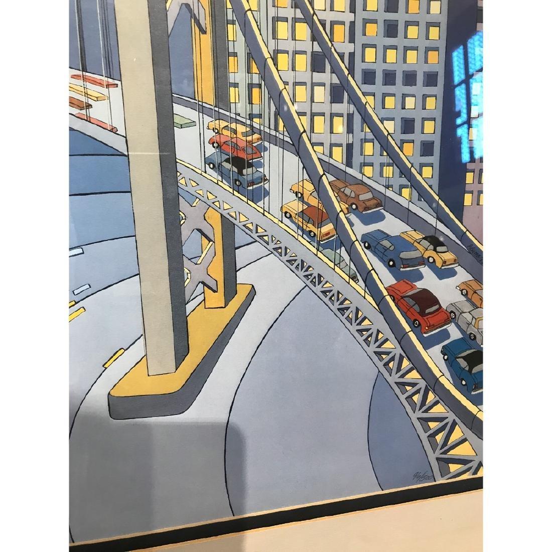 San Francisco Bridge Scene Lmd. Ed. Print by Charles - 3