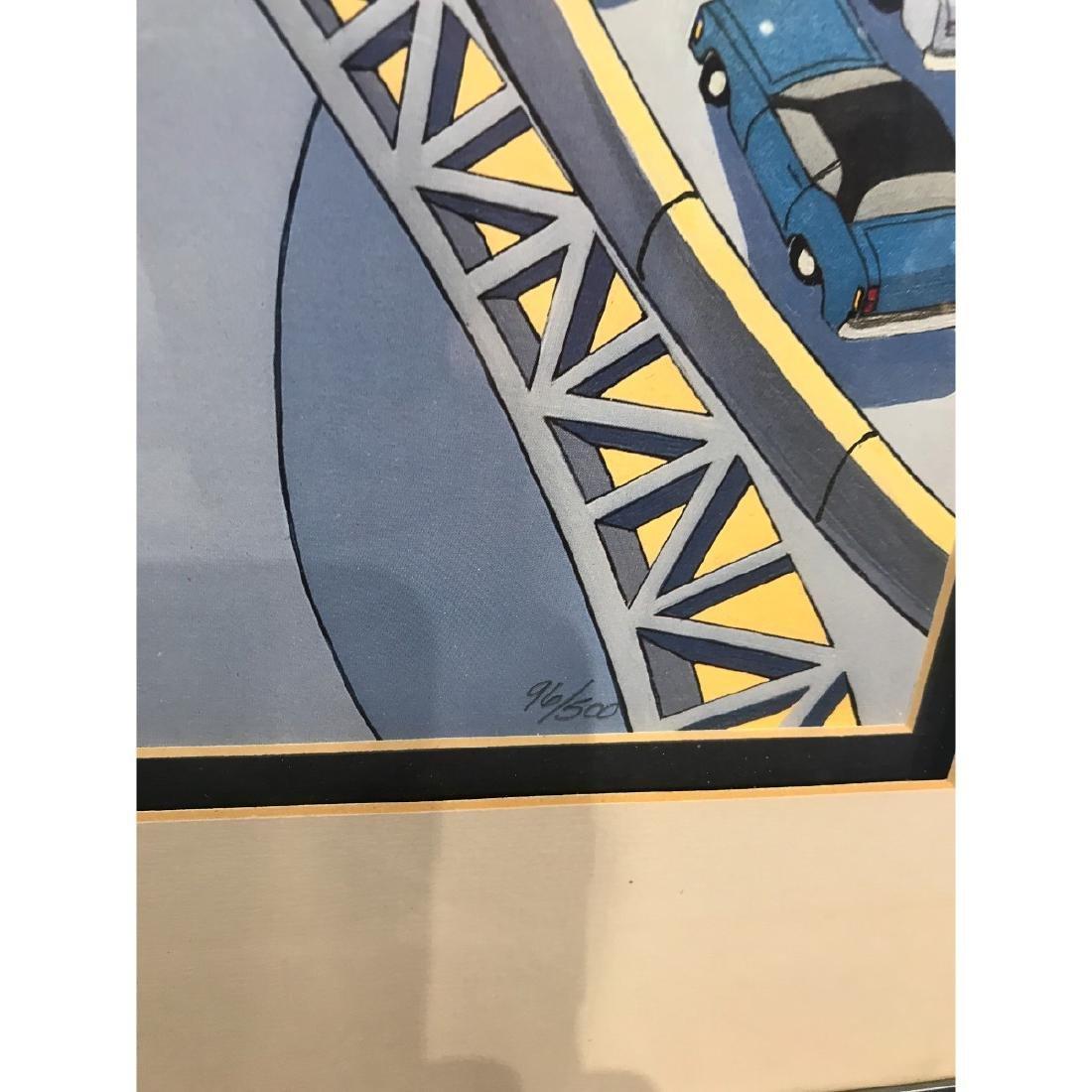 San Francisco Bridge Scene Lmd. Ed. Print by Charles - 5