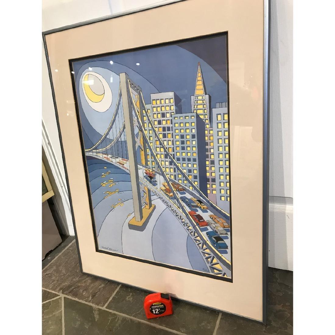 San Francisco Bridge Scene Lmd. Ed. Print by Charles - 6