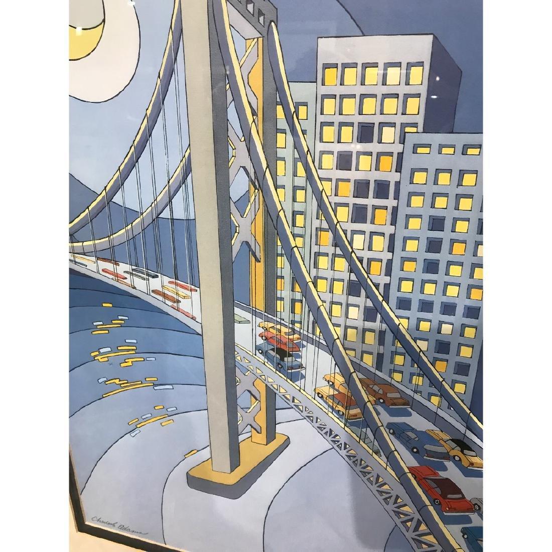 San Francisco Bridge Scene Lmd. Ed. Print by Charles - 7