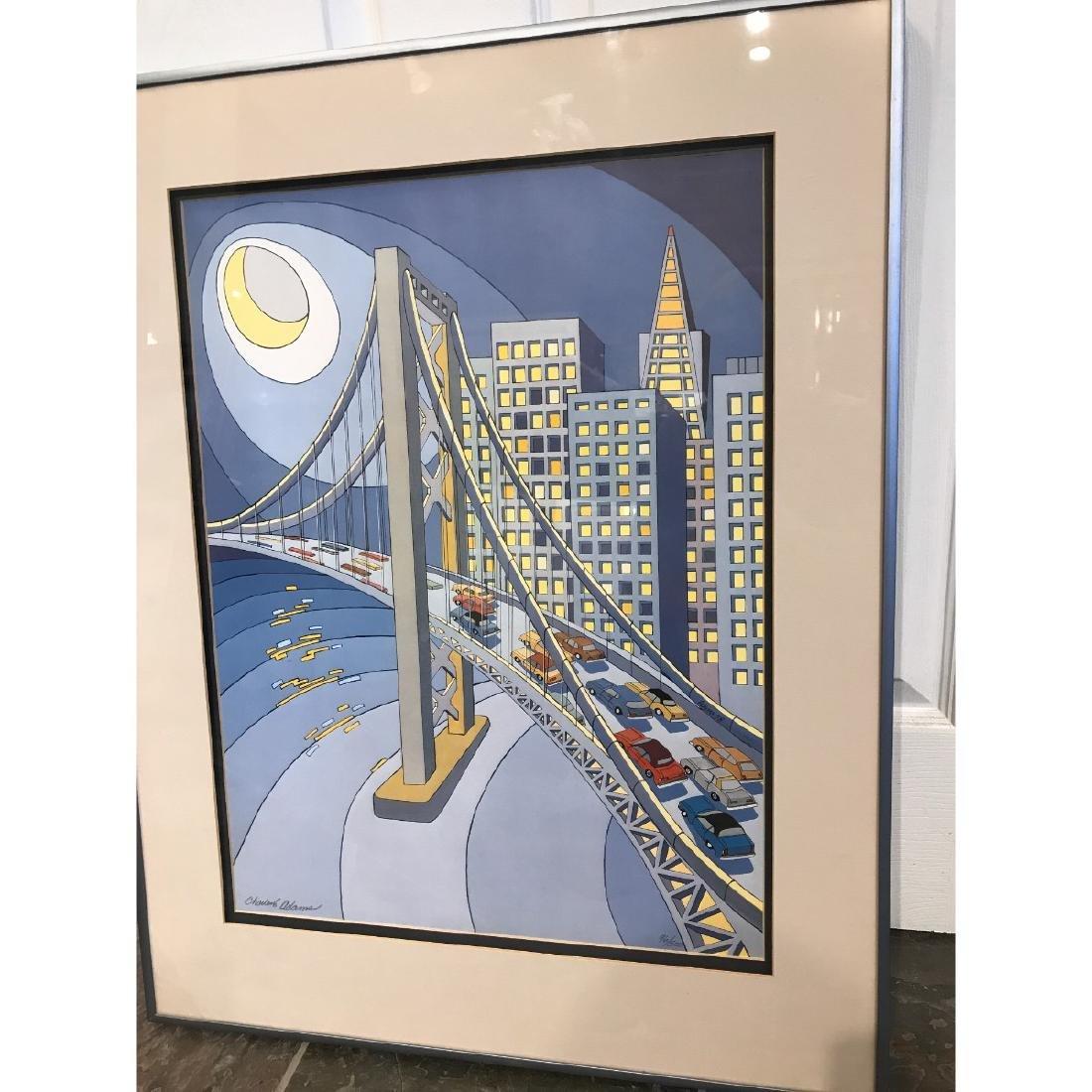 San Francisco Bridge Scene Lmd. Ed. Print by Charles