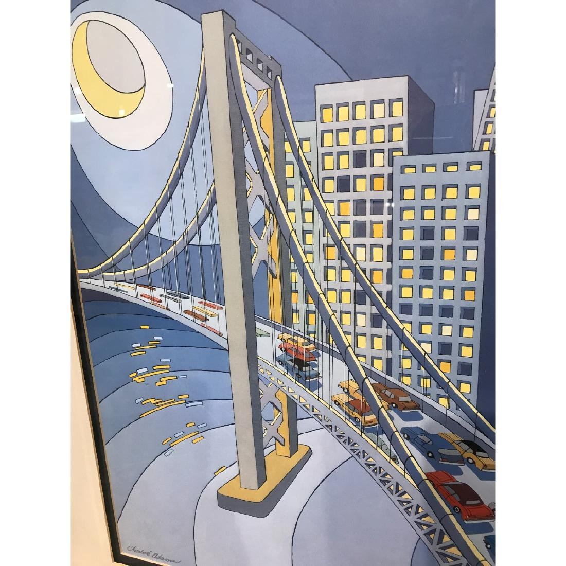 San Francisco Bridge Scene Lmd. Ed. Print by Charles - 6