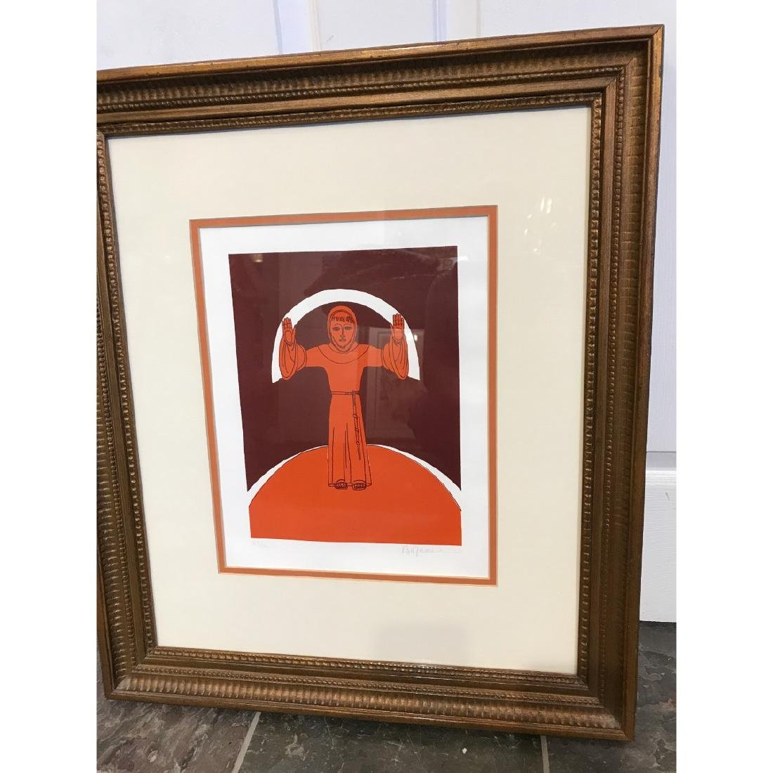 Limited Edition Print of a Monk by Bu Fano, Randolph