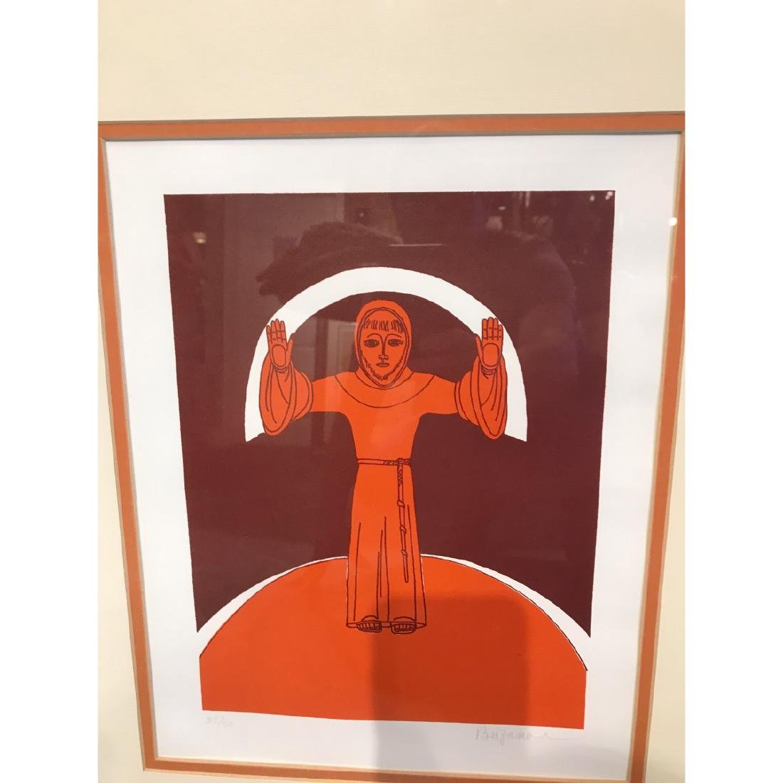 Limited Edition Print of a Monk by Bu Fano, Randolph - 2