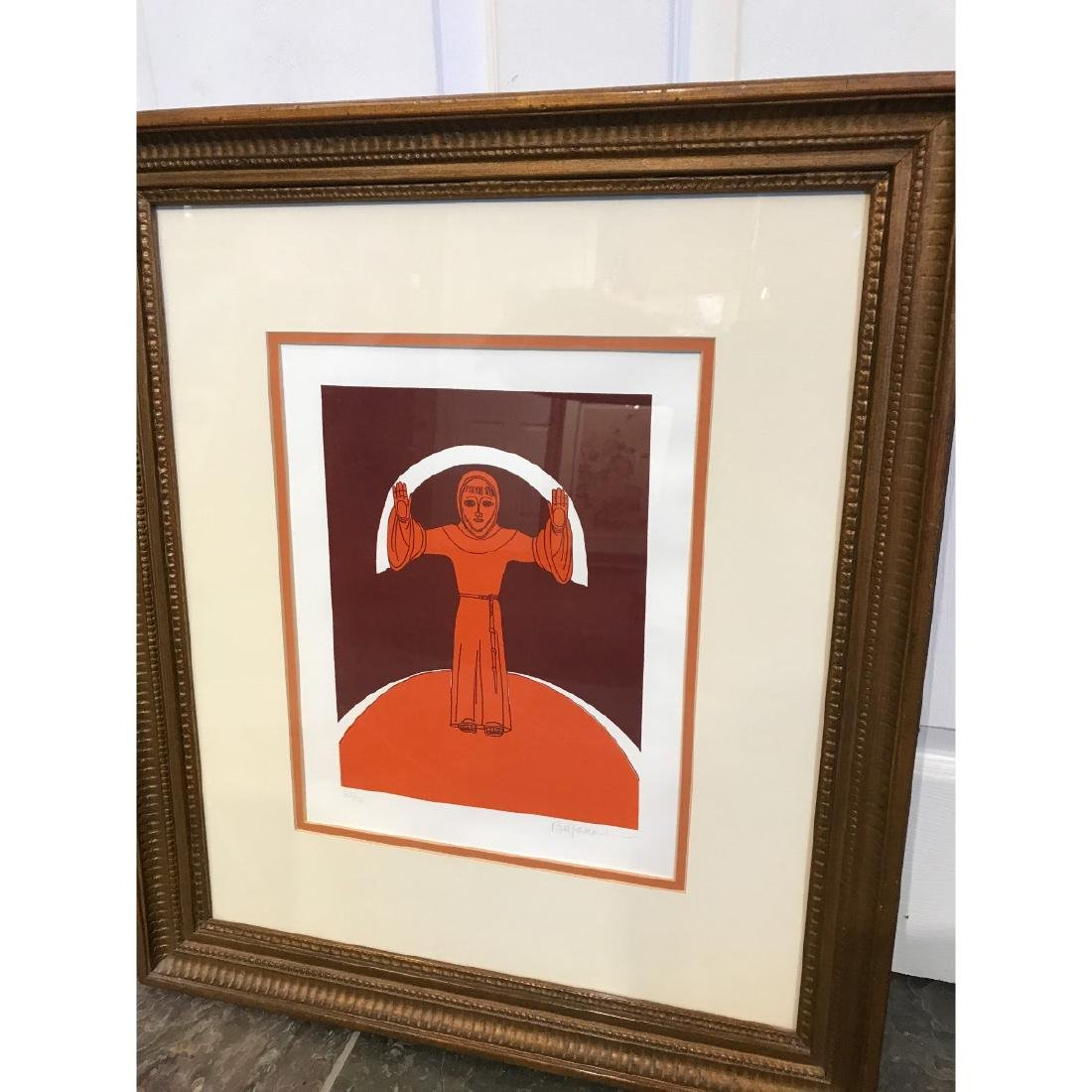 Limited Edition Print of a Monk by Bu Fano, Randolph - 8