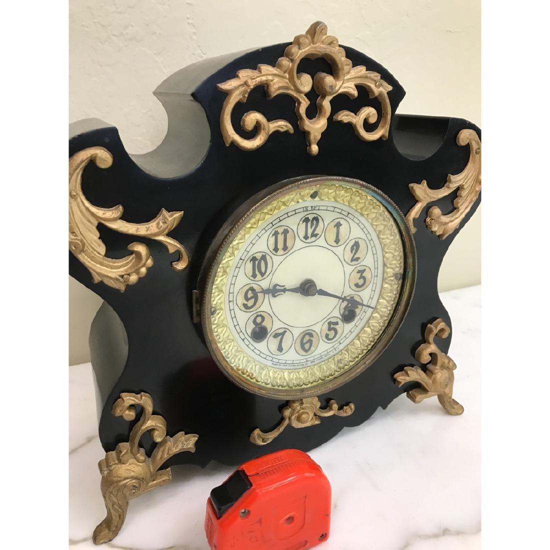 Vintage American New Haven Clock - 3