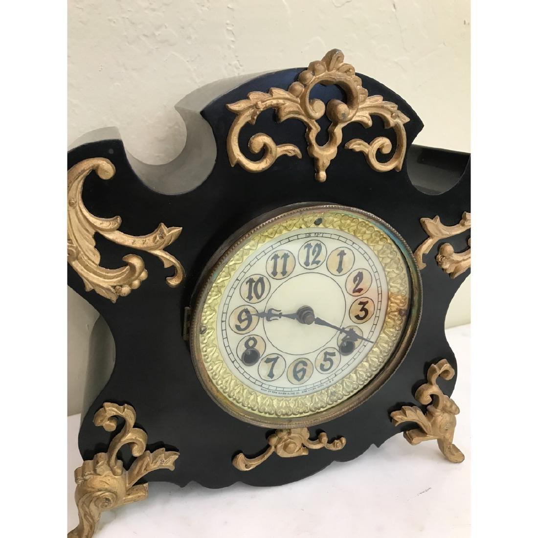 Vintage American New Haven Clock - 7