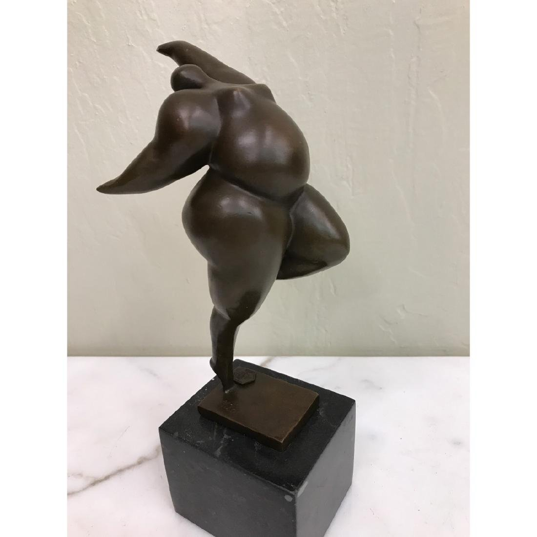Bronze Statue of Curvy Woman by Milo