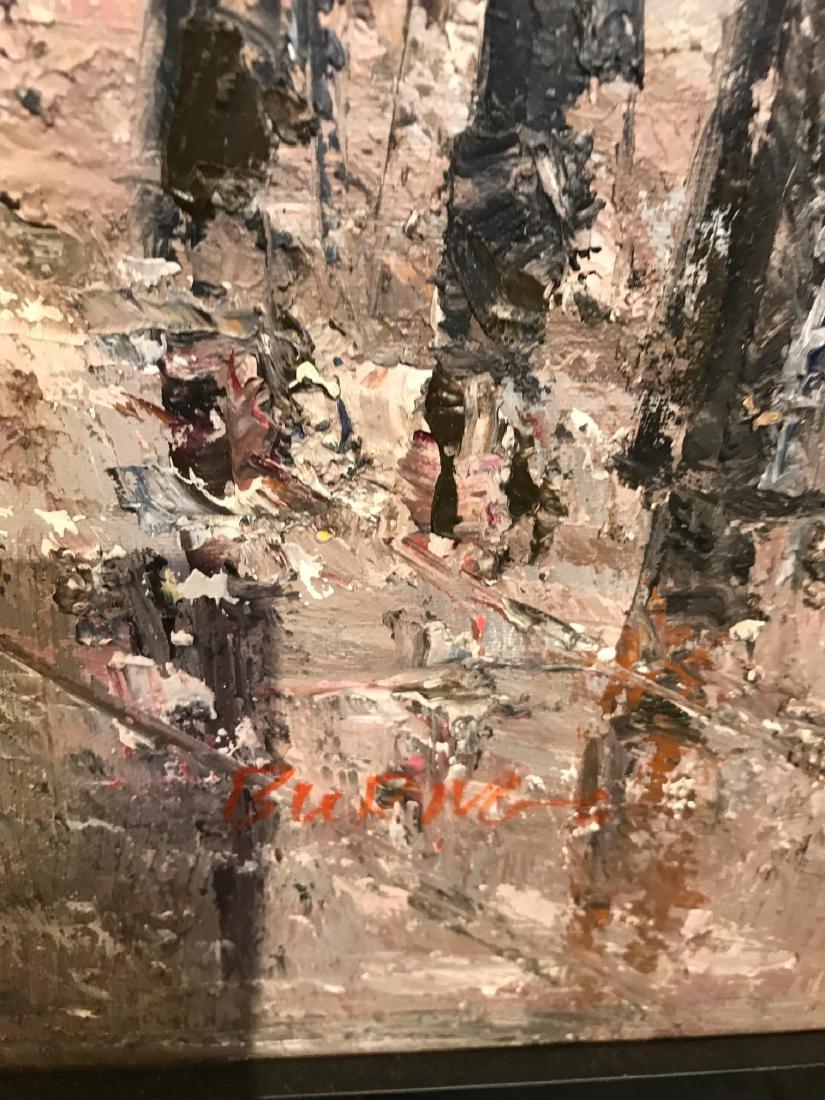 Oil on Canvas- Depicting Paris Street - 10