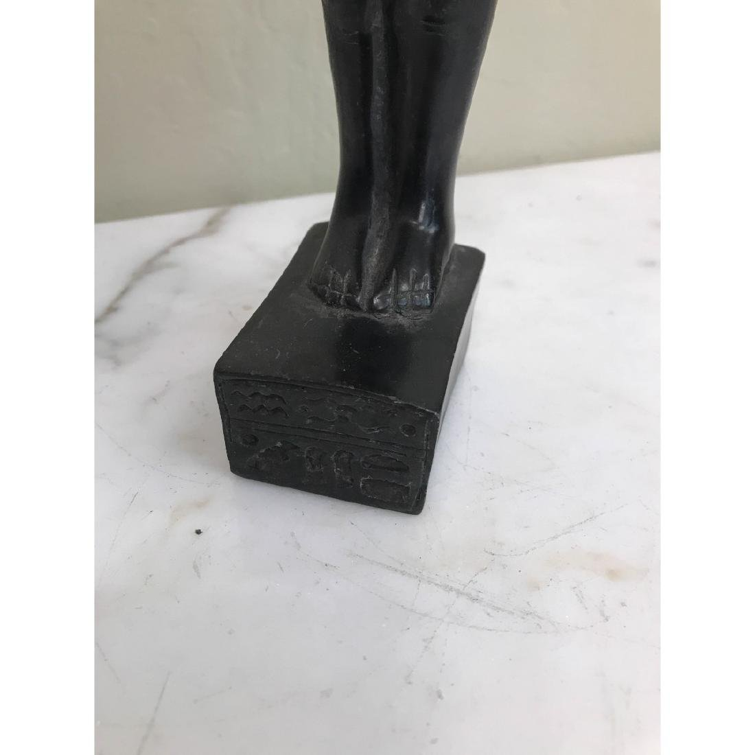 Erotic Carved Wood Statue of Egyptian Man - 8