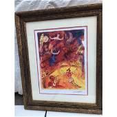 Circus Lmd Ed Marc Chagall Print