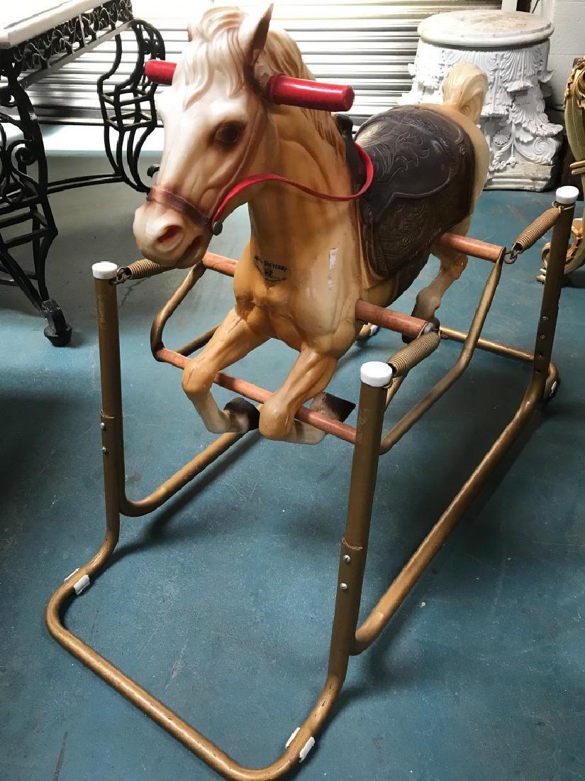 "Vintage ""Wonder Horse"" Toy - 7"
