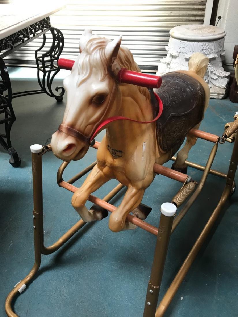 "Vintage ""Wonder Horse"" Toy - 8"