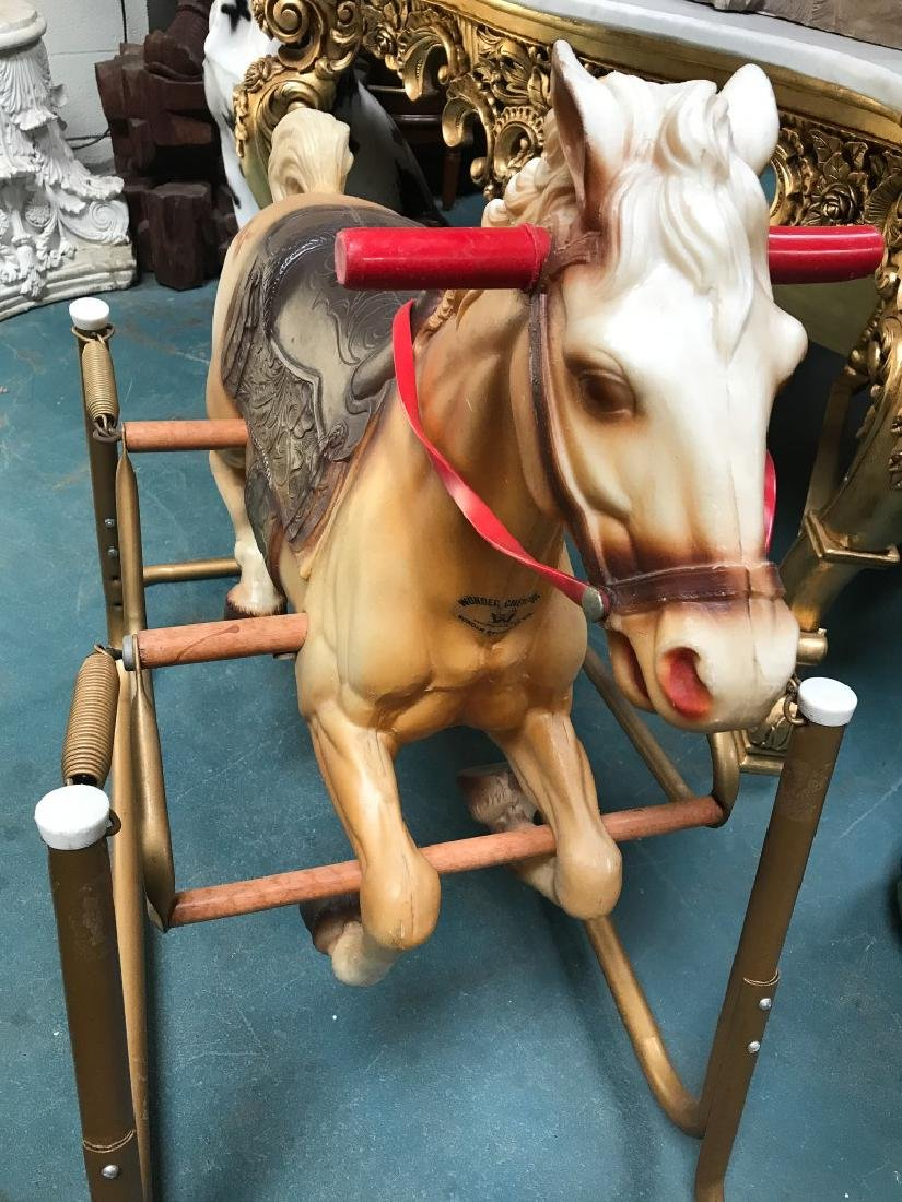 "Vintage ""Wonder Horse"" Toy - 9"