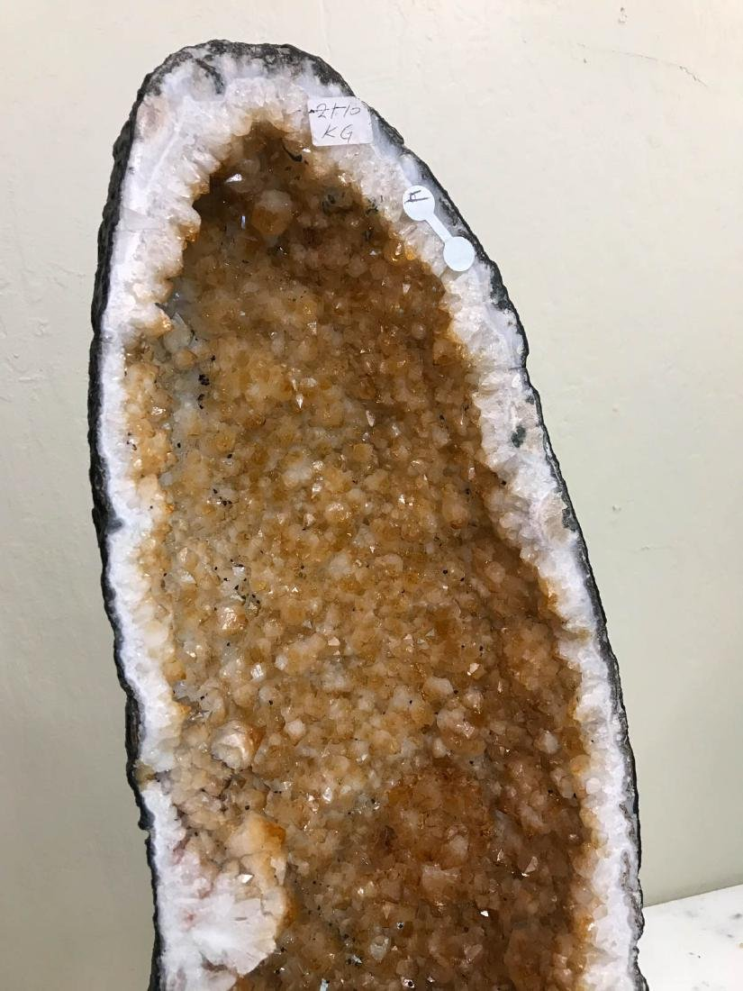 Natural Citrine Cathedral Geode - 2