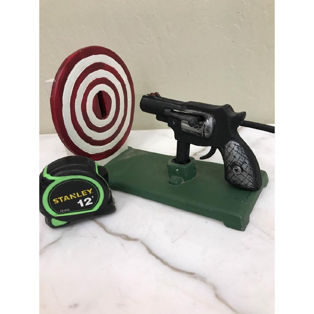 Gun and Target Mechanical Bank - 5