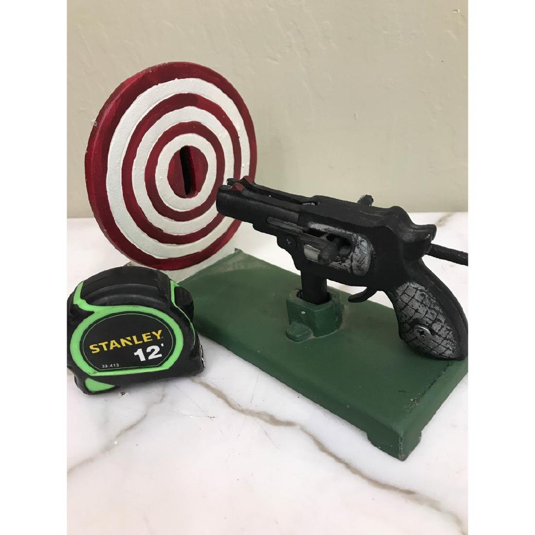 Gun and Target Mechanical Bank - 7