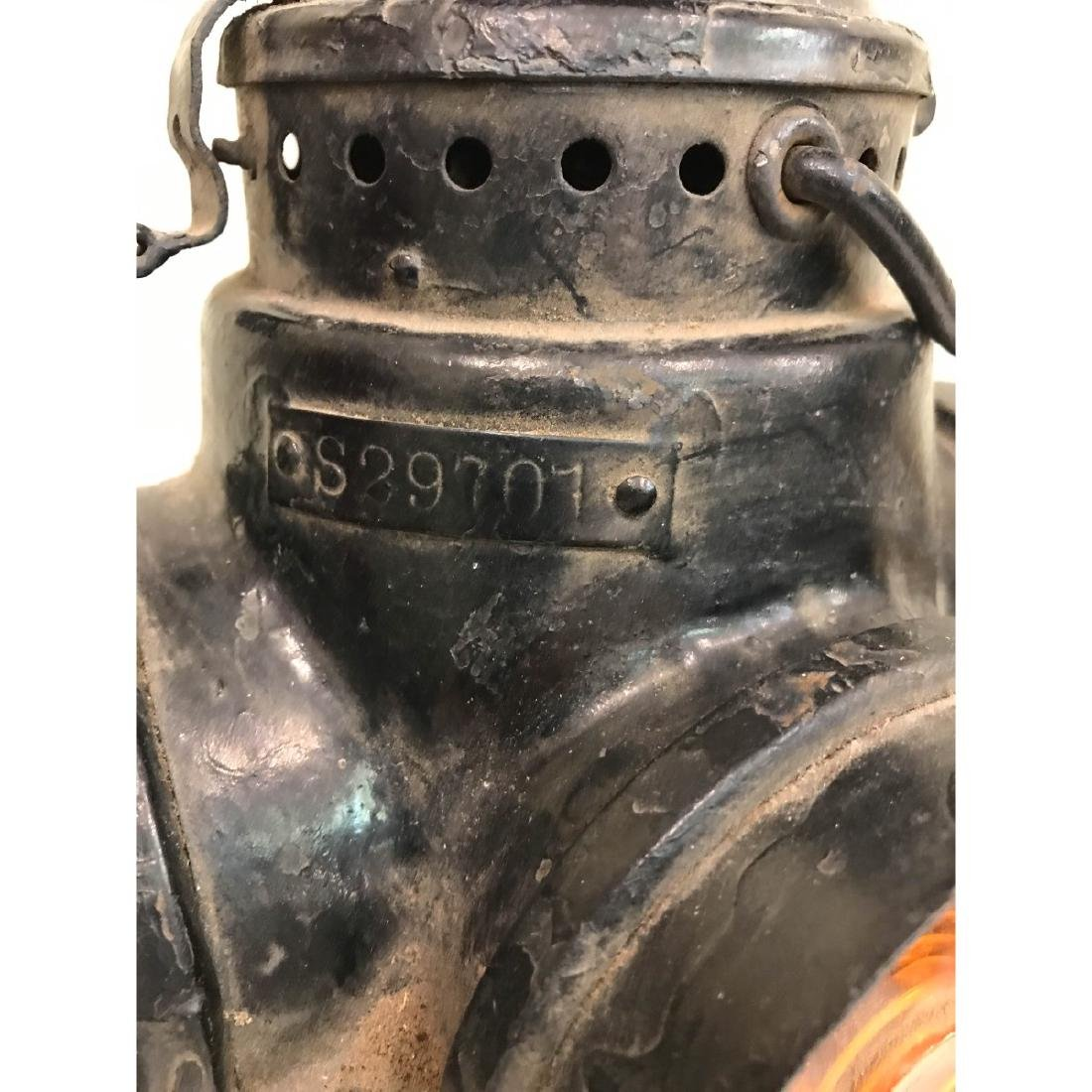Antique Trunk Lamp, Lantern - 3