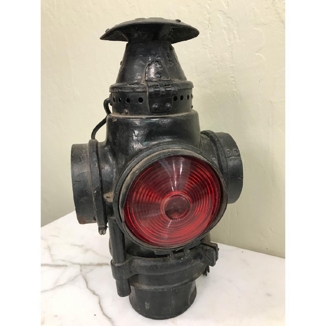 Antique Trunk Lamp, Lantern - 7
