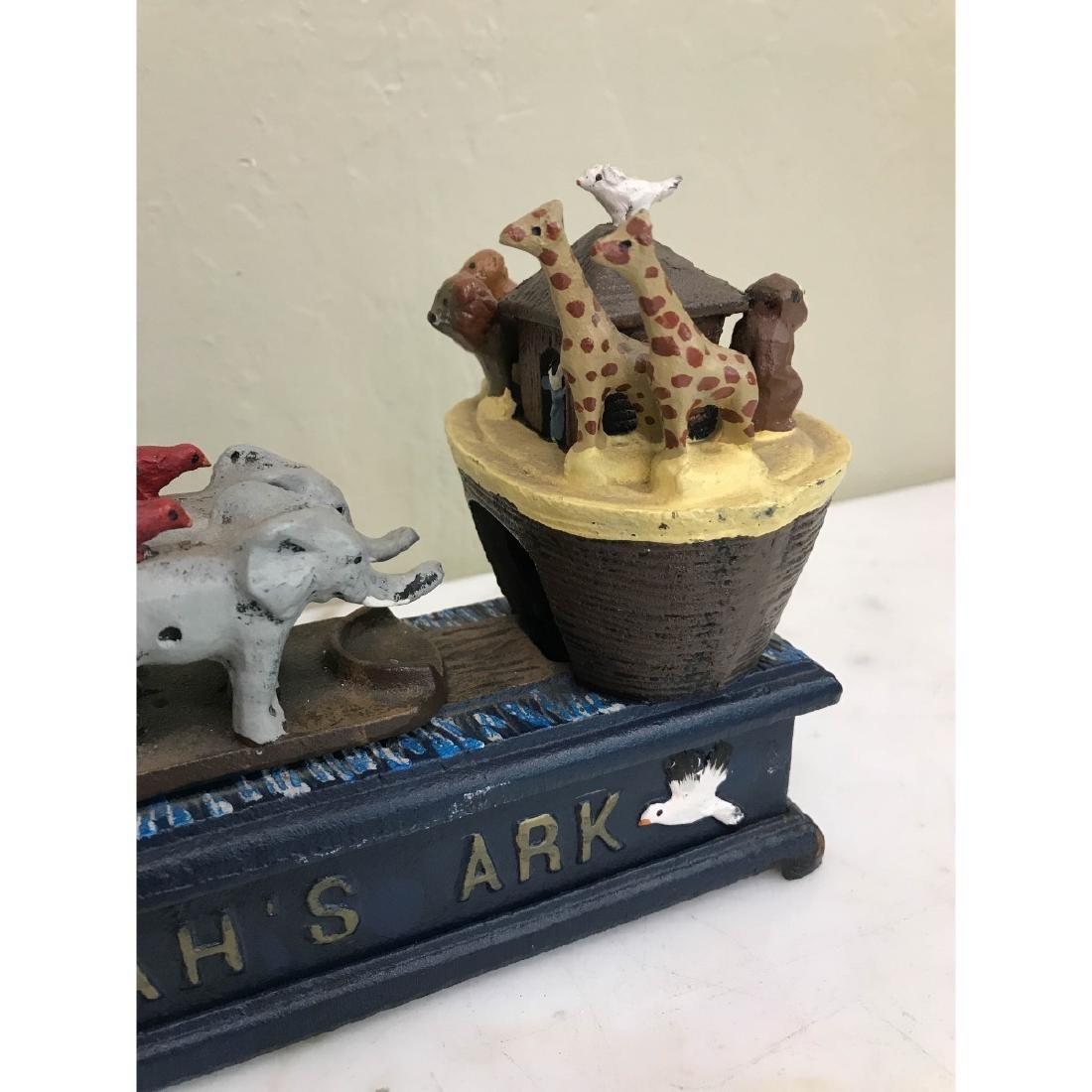 Noah's Ark Mechanical Bank - 2