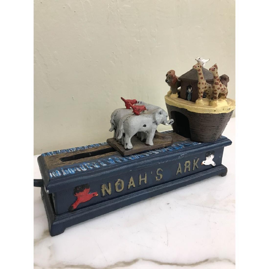 Noah's Ark Mechanical Bank - 3