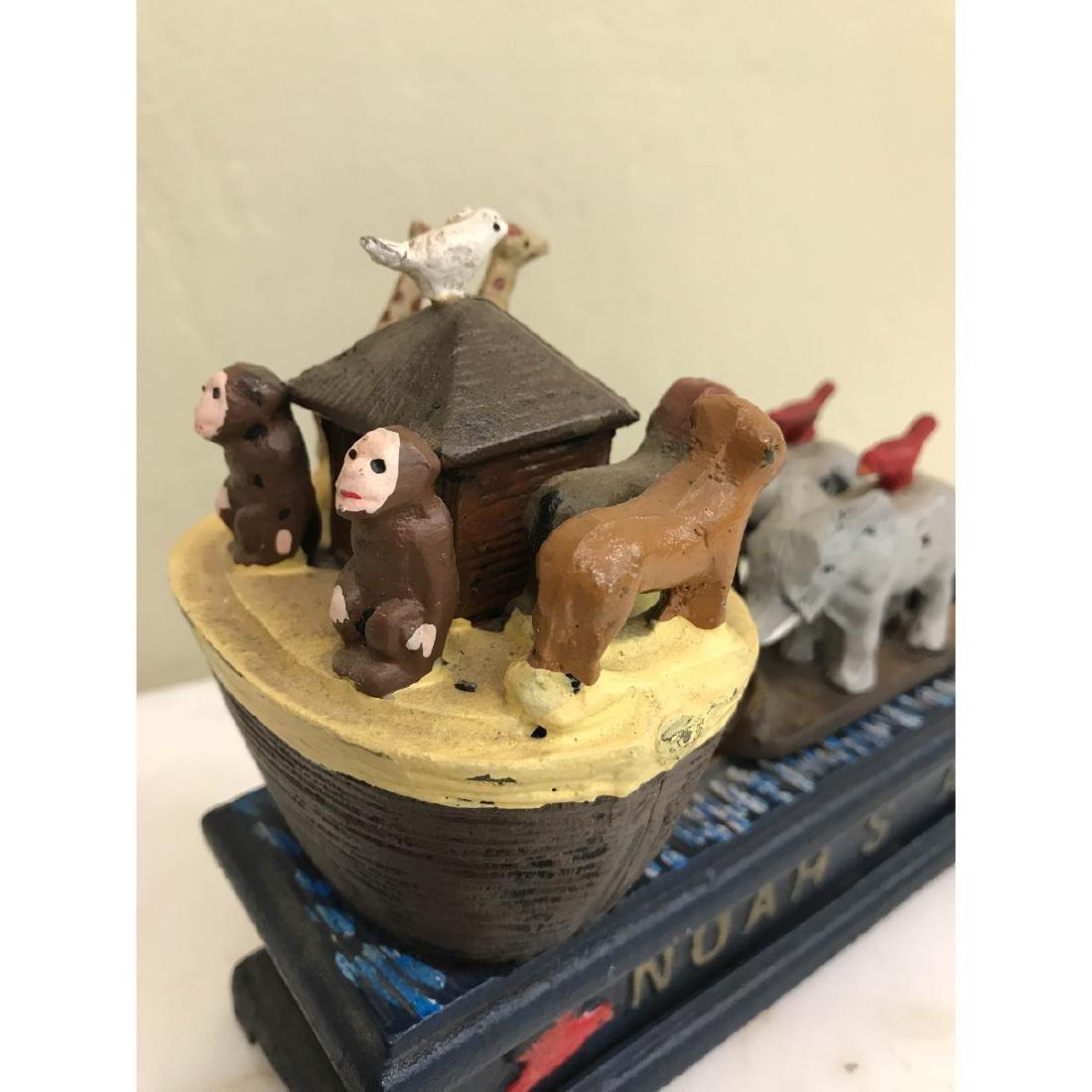 Noah's Ark Mechanical Bank - 6