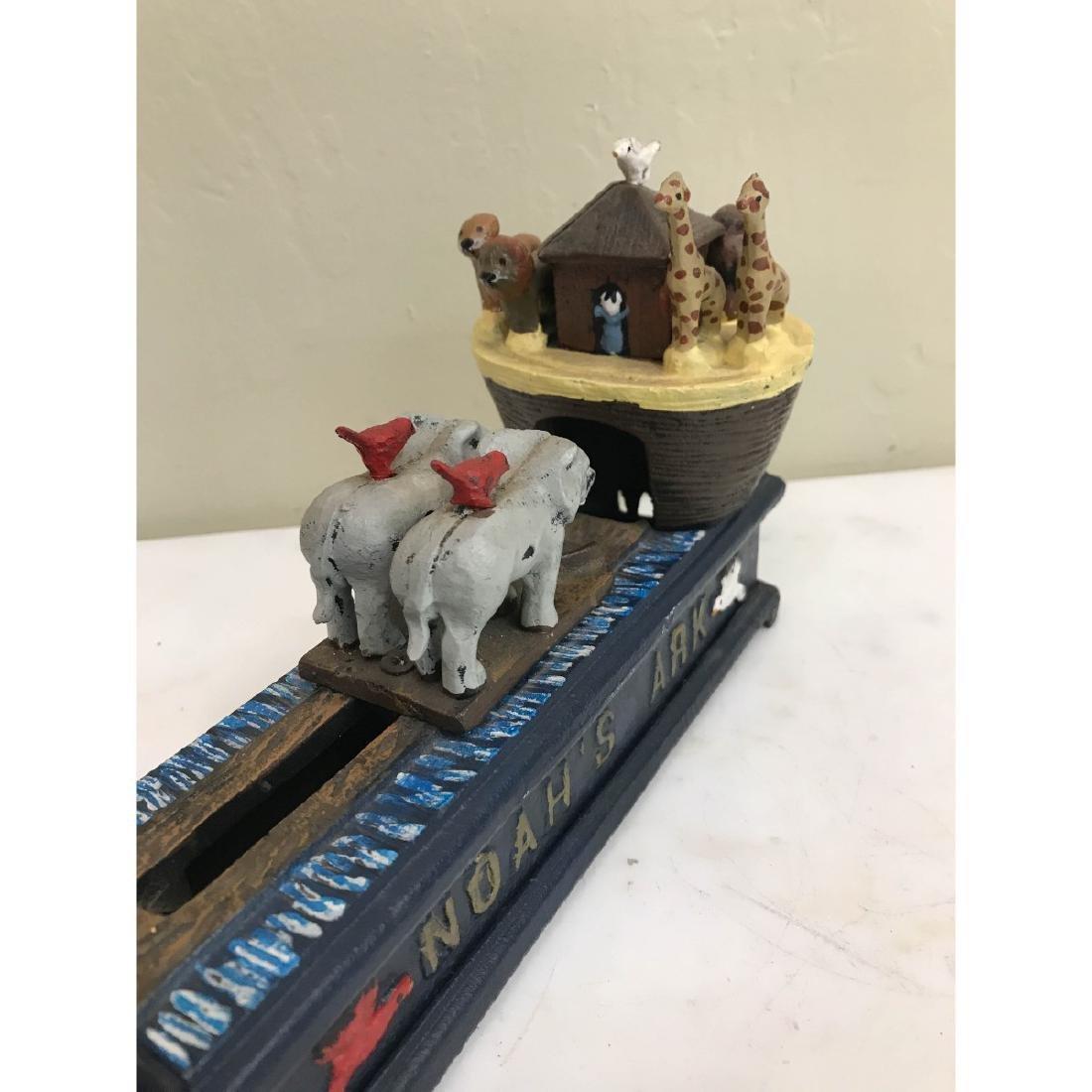 Noah's Ark Mechanical Bank - 7
