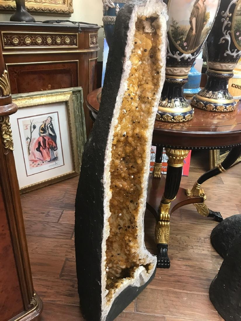 Citrine Cathedral Geode - 4