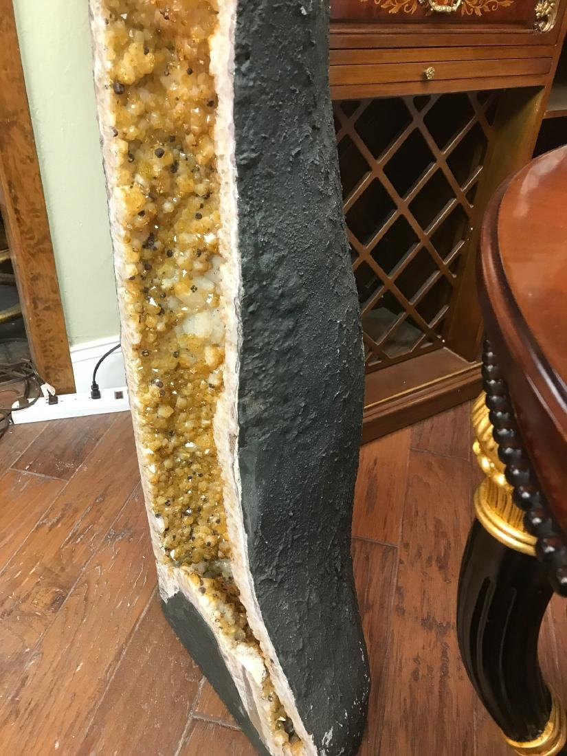 Citrine Cathedral Geode - 6