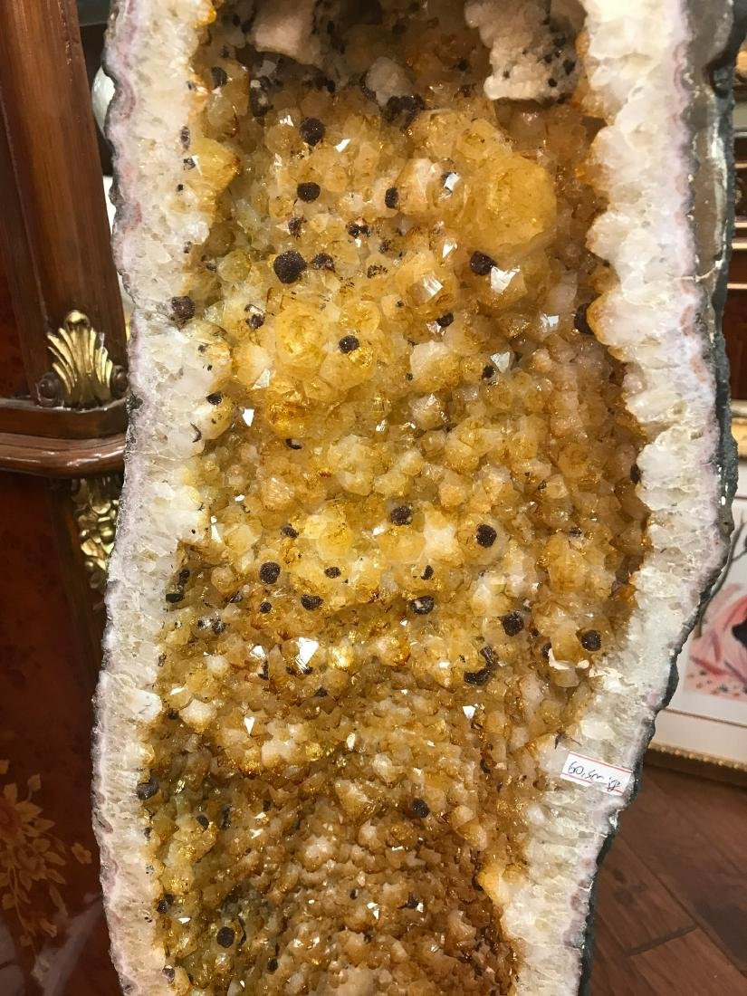 Citrine Cathedral Geode - 7