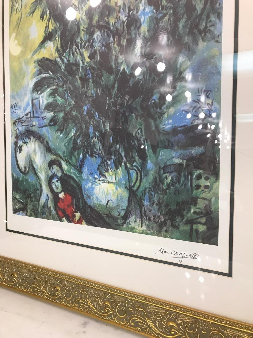 """Les Roses"" Lmd. Ed. Marc Chagall Print - 6"