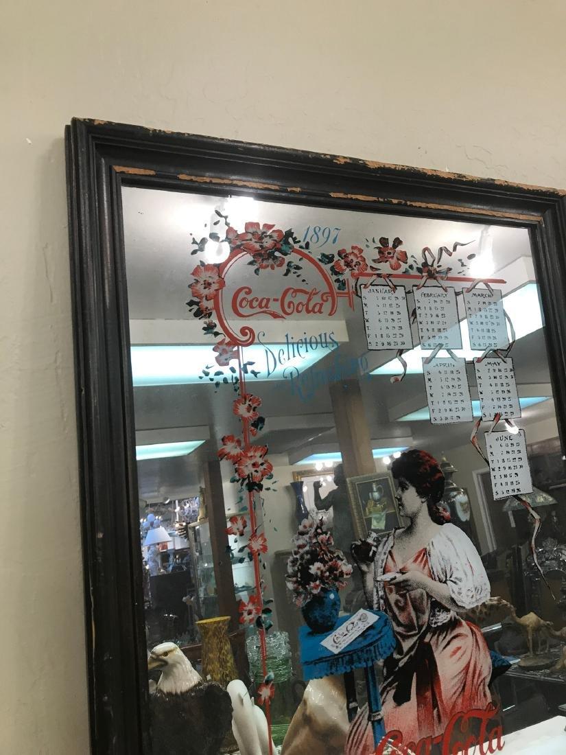 Vintage Coca-Cola Advertising Mirro - 7