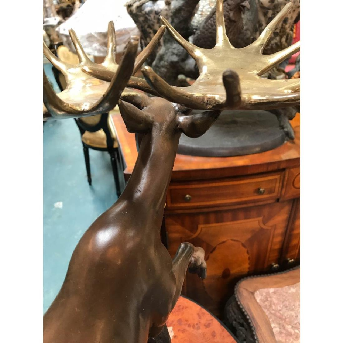 Bronze Statue of a Moose, Lmd. Ed., Signed - 5