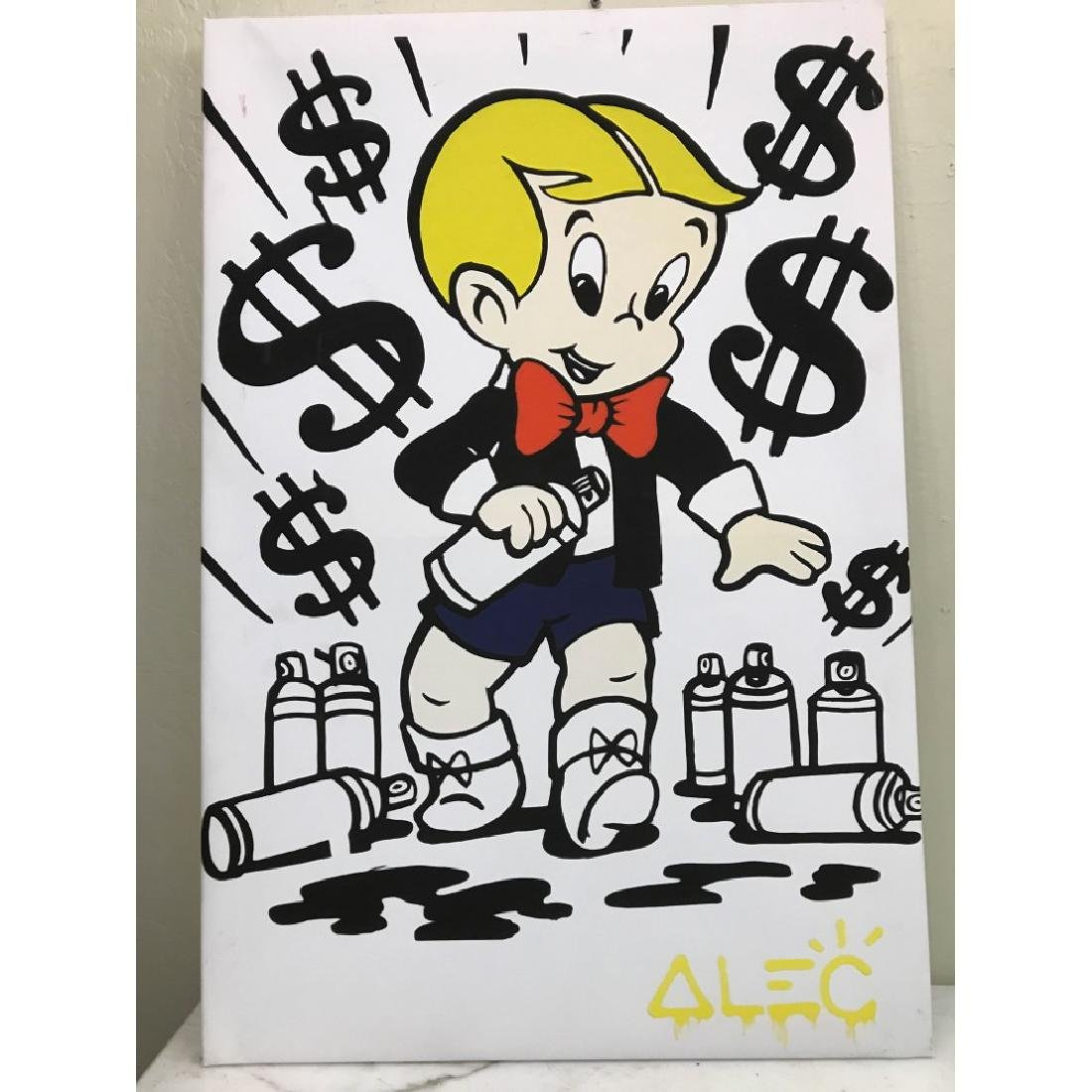 Alec Monopoly's Rich with Spray Paint Print
