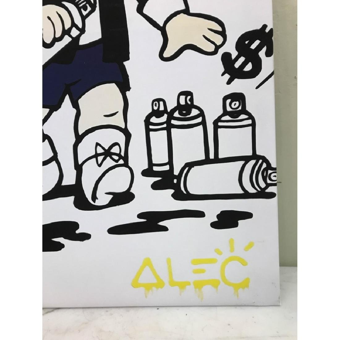 Alec Monopoly's Rich with Spray Paint Print - 3