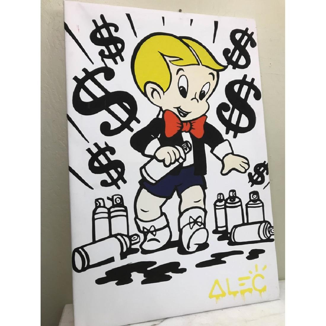Alec Monopoly's Rich with Spray Paint Print - 4