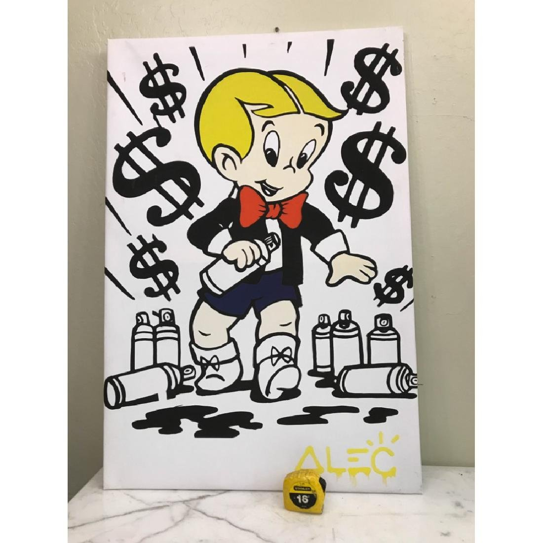 Alec Monopoly's Rich with Spray Paint Print - 8