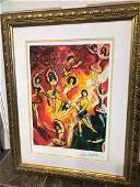 The Triumph of Music  Limited Edition Marc Chagall