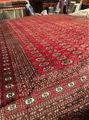 Wool + Silk Handmade Princess Bokhara Rug