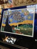 Limited Edition Magnificent Glass Mosaic depicting Van