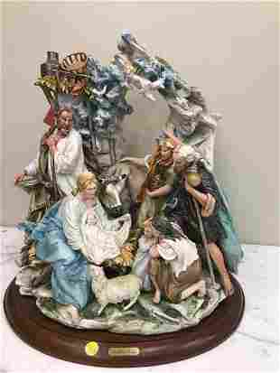Limited Edition Capodimonte Nativity Scene - 105/750