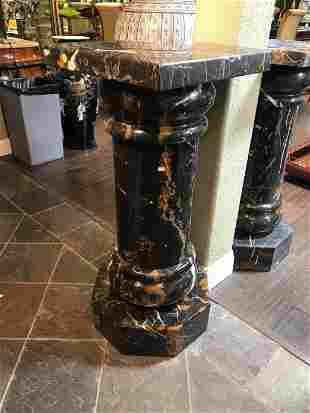 Spectacular Large Marble Pedestal