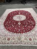 Extra Fine Large Handmade Silk on Silk Carpet