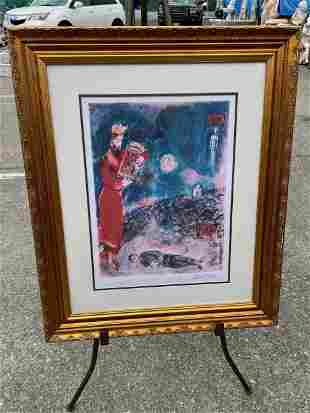 Limited Edition - Marc Chagall Print - 3/99
