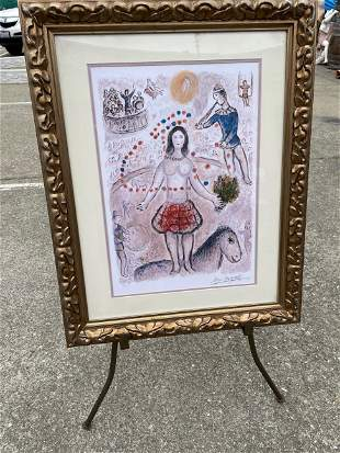 Limited Edition Marc Chagall Print - 14 of 99