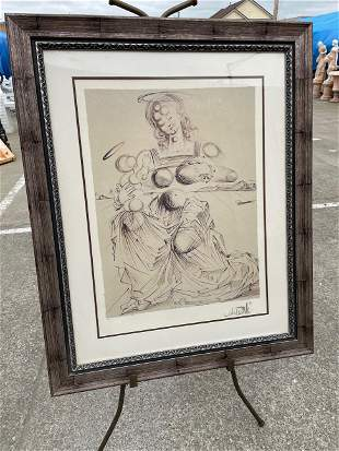 Large Salvador Dali - Limited Edition Print, 29 of 500
