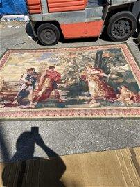 Petit Point Tapestry with Mythological Scene