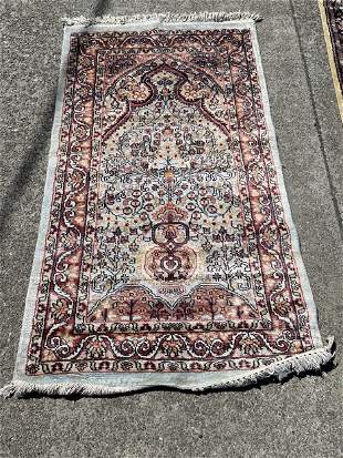 Small Area Rug with Tree of Life Design