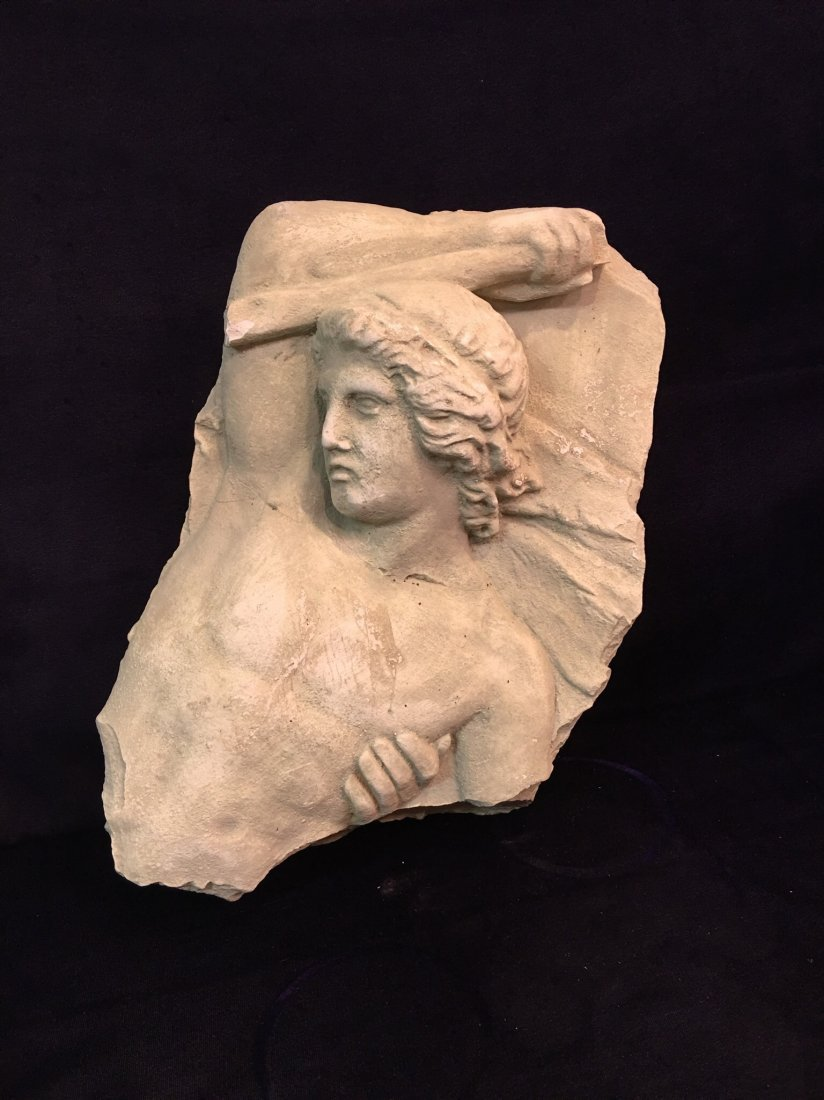 Stone Greek Style Wall Mount Relief