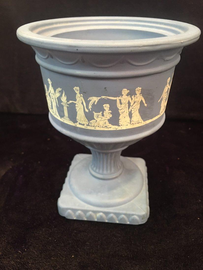 Miniature Wedgewood Pedestal Bowl